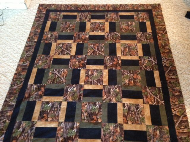 camo quilt patterns | of the camo quilt that I took advice from this board on the pattern ...