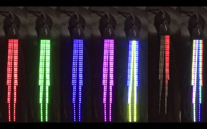 Led Lights can be used as horsetail decorations. Weird but interesting. www.ledskylamp.com