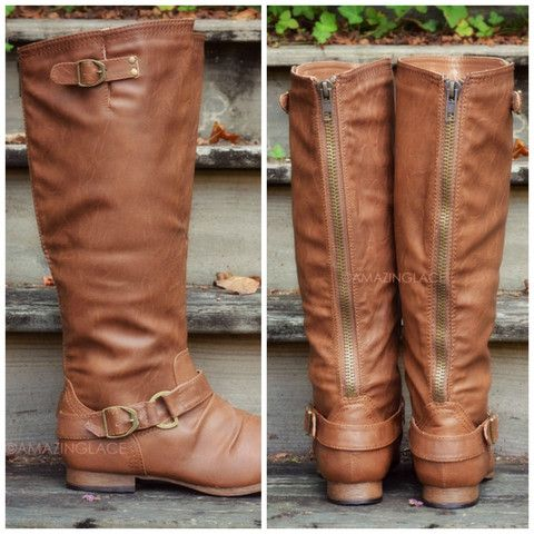 10 best images about Boots on Pinterest | Zippers, Leather ankle ...
