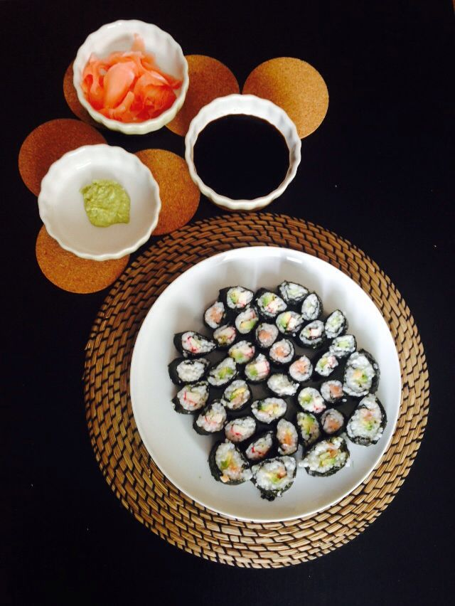 #sushi #love #relax #homemade ❤️