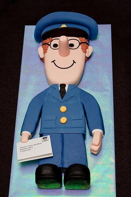memorable cakes Postman Pat!!