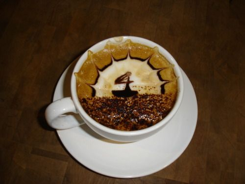 Wow!  -Kirkland, WA, USA  -Caffe Rococo  submission frombrowncollarbarista
