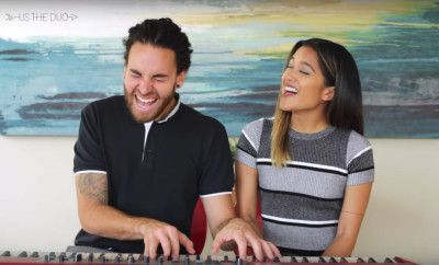 Duo Covers 2015's Biggest Pop Hits in Under Four Minutes and It's Awesome