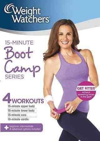 """This program offers a straightforward 15-minute """"boot camp"""" that offers cardiovascular benefits as well as strengthening and toning the body."""