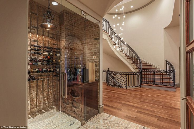 Jordan Spieth buys $8.5m Dallas mansion complete with indoor basketball court, 'grill room', golf simulator and mural to Augusta | There is plenty of room to store the bottles of champagne won on the coursec