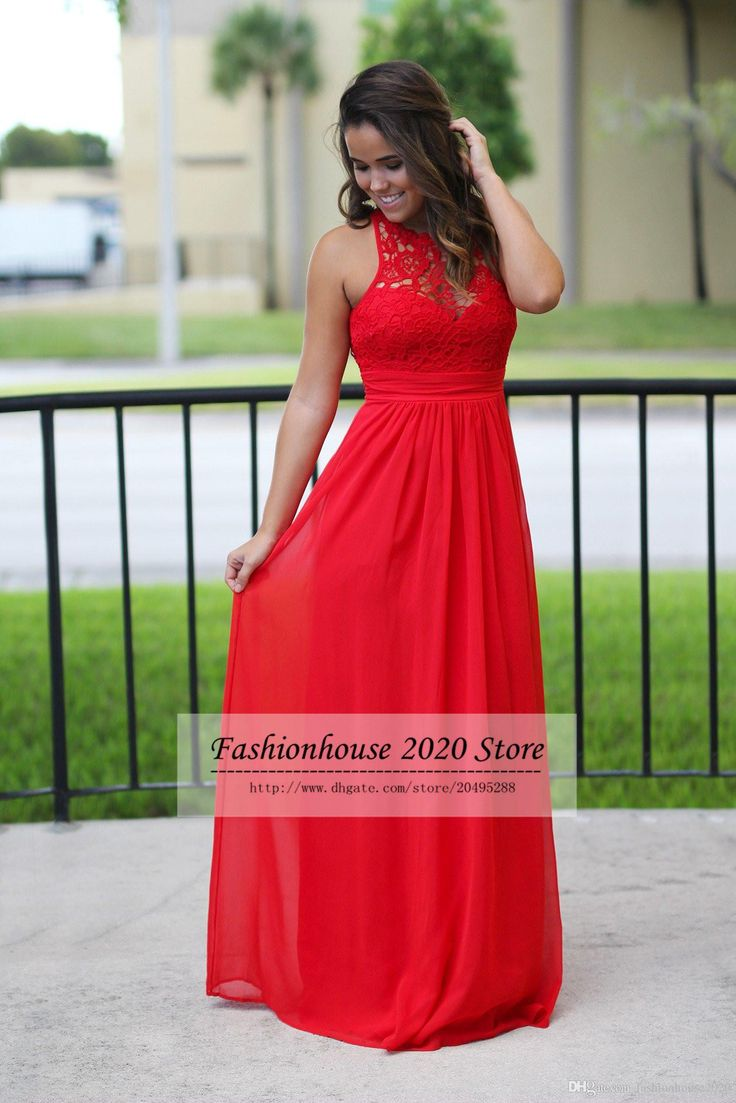 The 25 best country bridesmaids gowns ideas on pinterest cheap sexy long chiffon country bridesmaid dresses red lace bridesmaids dress cheap beach sexy backless maxi dress prom gowns as low as 7237 ombrellifo Images