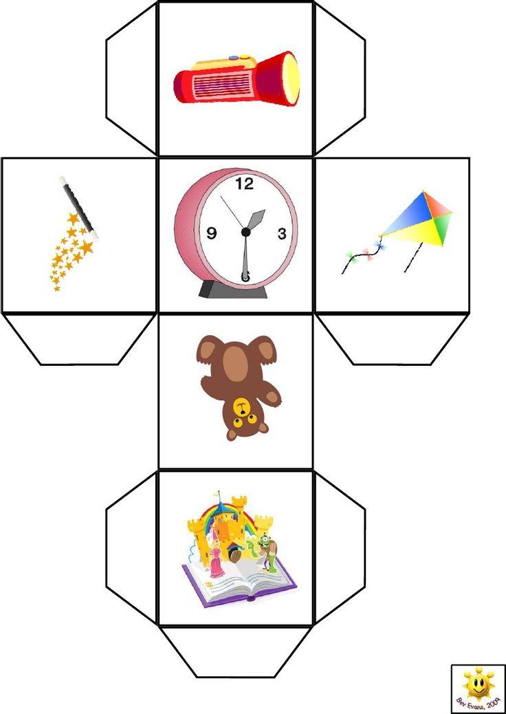 разработан картинки для кубика по развитию речи знаю, что поделки