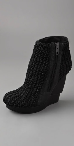 is it weird for me to like these boots..  knit part is make suede..