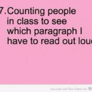LOL! Always did this in school!:
