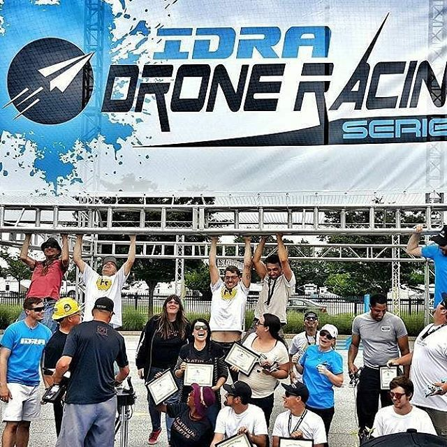 Great after race photo!  #Repost @skygear_solutions  ・・・  Drone Racing monkeys at #doverinternationalspeedway #idra #skygear #droneracing #dronestagram #nascar #monstermile #dronesfordelaware #drones #delaware #delawareonline #pitstop #fpvracing #racingdrones #doverdowns #dover