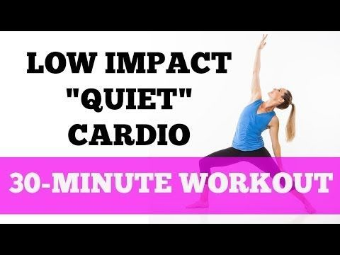 LOW IMPACT CARDIO Tabata | Quiet Home Workout with No Jumping - YouTube