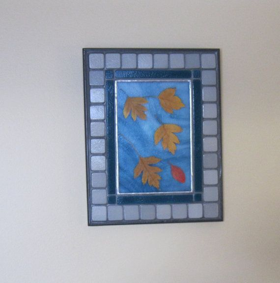 Autumn leaves:  Floating on the Breeze 3   Wall by RockinMosaics