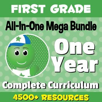 8 best have fun teaching access images on pinterest lesson first grade all in one mega bundle 1 year complete curriculum fandeluxe Choice Image