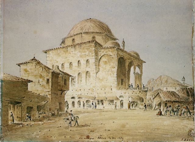 1839, Monastiraki, Athens- SKENE, James