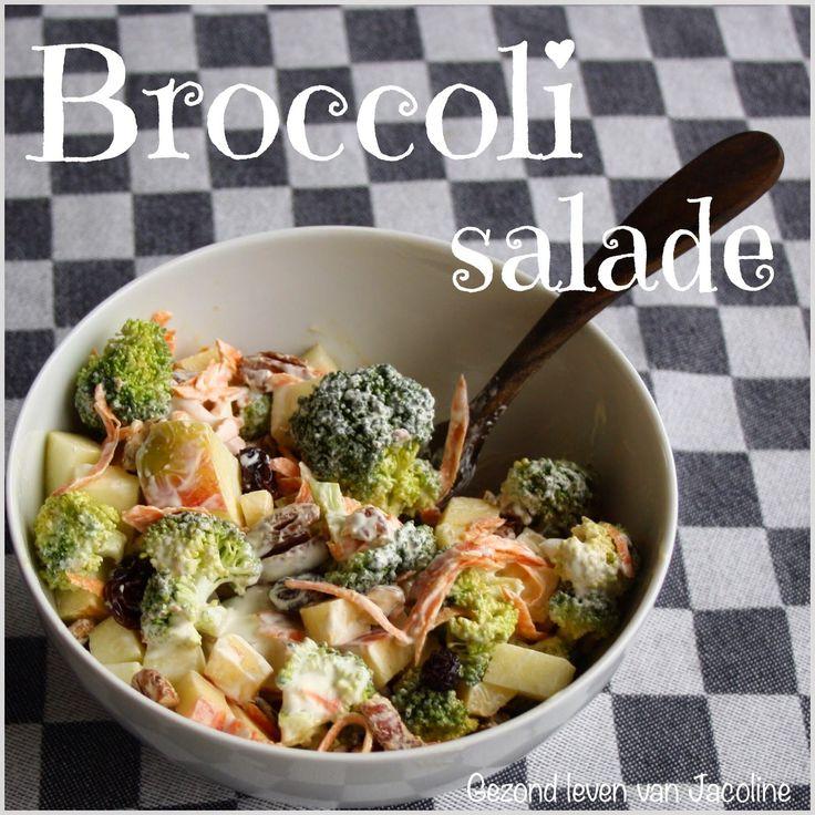 Gezond leven van Jacoline: Broccoli salade
