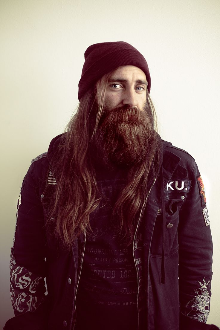 long beard hair styles chris haslam sk8 hair beard styles hair beard 4184 | 0beaf7e4af76f45b0c9ea6a118ce80f4 chris haslam motorcycle outfit