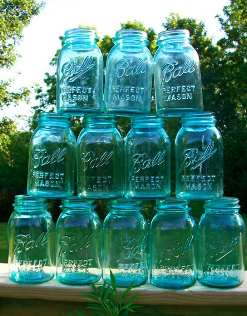 17 best images about modge podge mason jars on pinterest for Best paint to use on glass jars