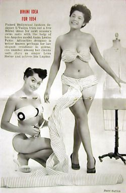 Women of Color in Burlesque: The Not-So-Hidden-History   Kneeling - Designer Standing - I can't read her name.