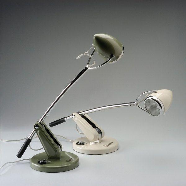 Vespa Table Lamp by CERQUIGLINI & ROSSI architecture , via Behance