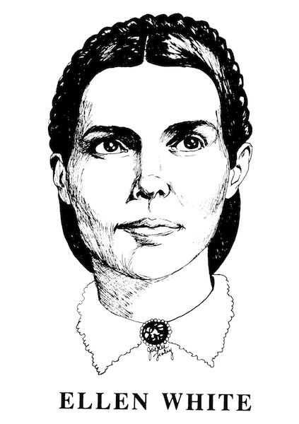 Adventist Heritage : Coloring Pictures of Adventist pioneers. These print out as very nice full-page PDFs. #sda #freeprintables
