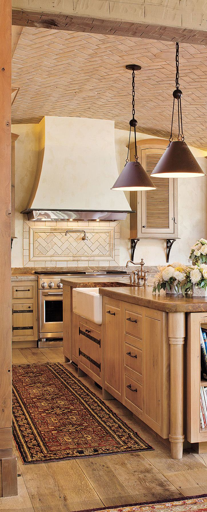 Country Kitchen. Modern Rustic ...