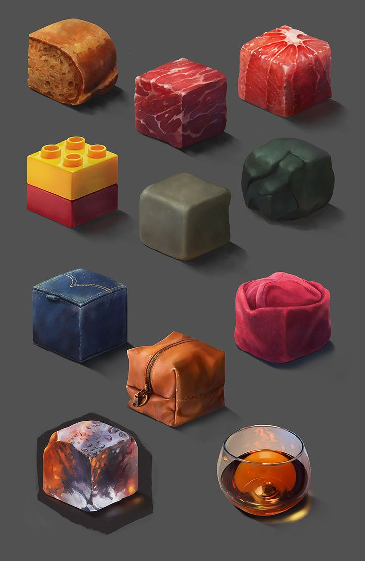 ArtStation - Material Study, Ayhan Aydogan