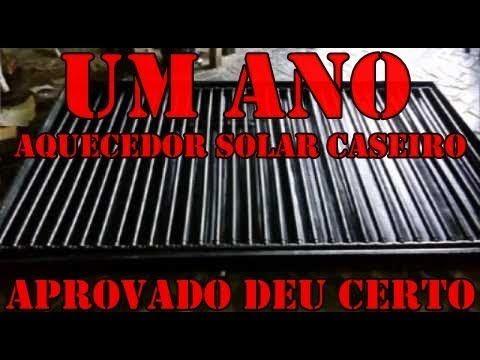AQUECEDOR SOLAR DE AGUA DE BAIXO CUSTO CASEIRO - YouTube