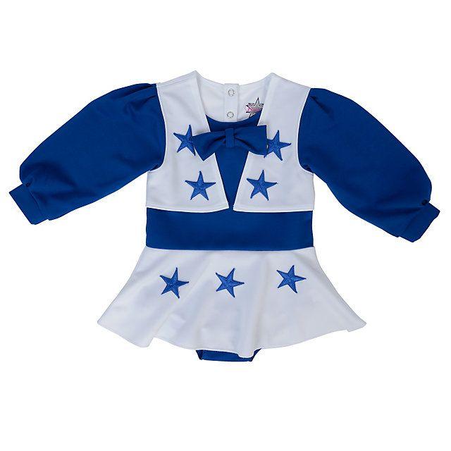 Dallas Cowboys Cheerleader Infant Cheer Uniform