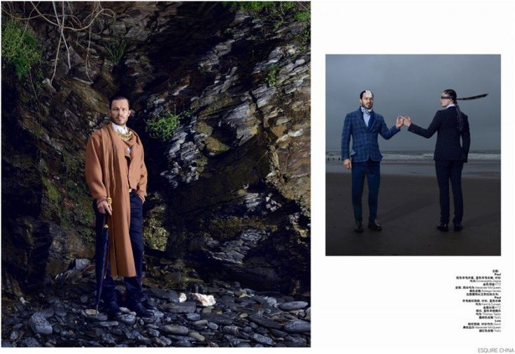 Paul Sculfor + Lew Parker Travel Across Space & Time for Esquire China image Esquire China Fashion Editorial 004 800x552