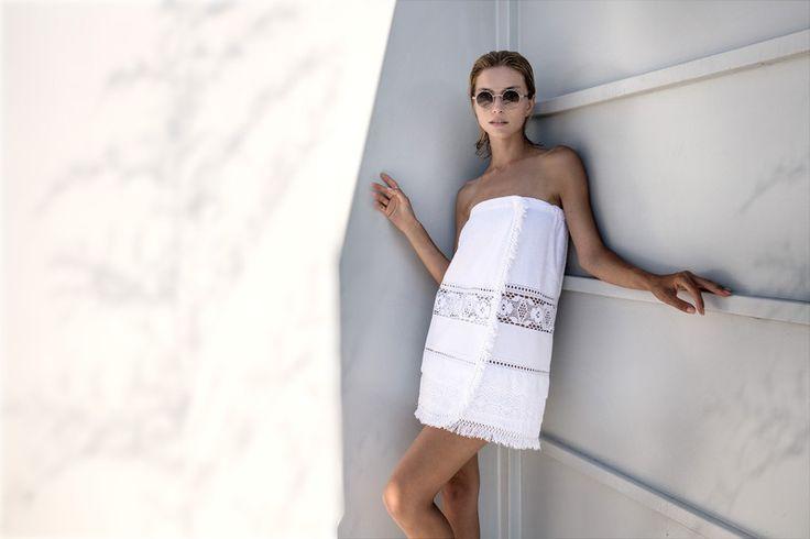 ponczo, okrycie kąpielowe w SHELEST na DaWanda.com