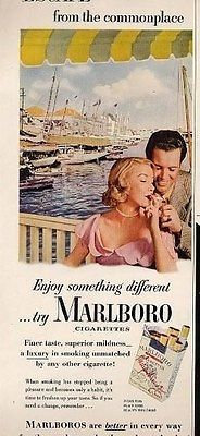 Marlboro Cigarette Ad on the Riviera