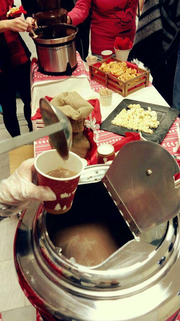 Ρόφημα ζεστής μυρωδάτο σοκολάτας !!!