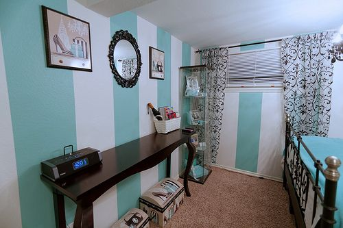 grey bedroom ideas pinterest stripes colors and tiffany theme