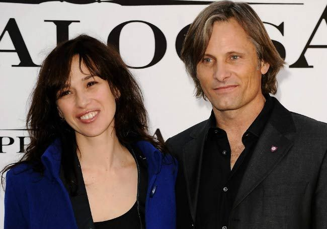 Viggo Mortensen and Ariadna Gil at the Appaloosa photocall in November 2008 in Spain...