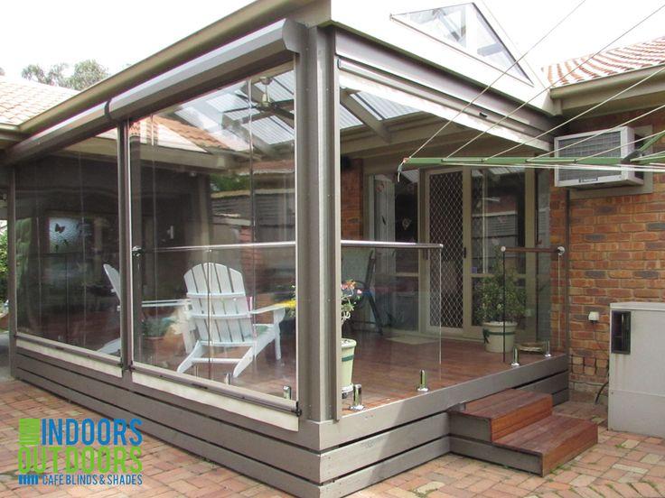 25 best ziptrak cierres de terraza pcv o sunscreen images on pinterest carriage house chile - Cierres de terrazas ...