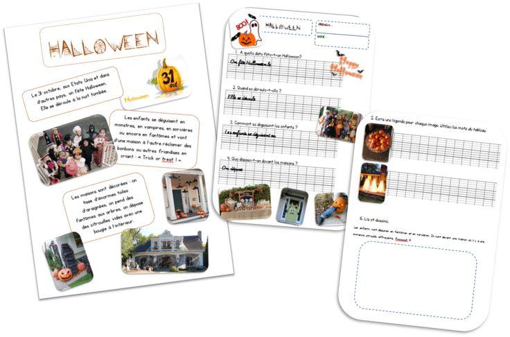 Halloween -texte documentaire-.