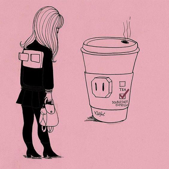 Segunda-feira produtiva! :)  #trabalho #monday #coffee