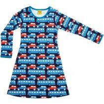 Duns - Dress LS Busses Blue