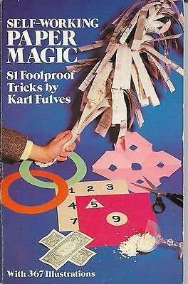 Self Working Paper Magic 81 Foolproof Tricks Karl Fulves Book Collectibles:Fantasy, Mythical & Magic:Magic:Tricks www.webrummage.com $9.99