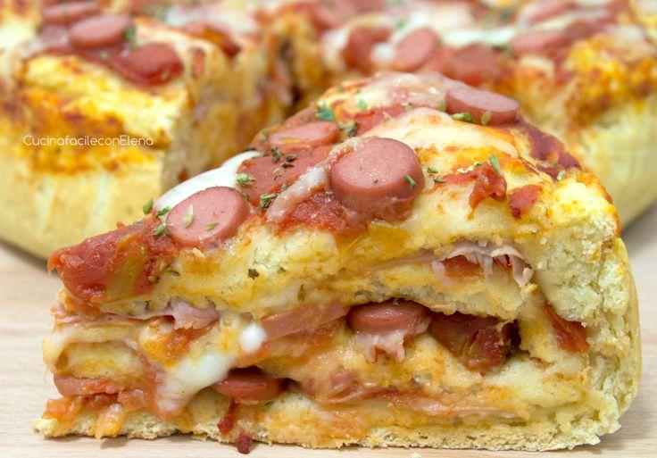 La Torta Pizza è una ricettina sfiziosissima per gustare la pizza in un modo diverso. E' facilissima da preparare ed il successo è assicurato, è deliziosa!!