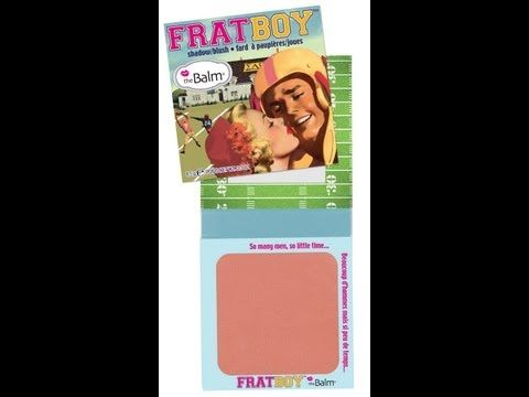 The balm frat boy blush-great peachy-pink color and staying power