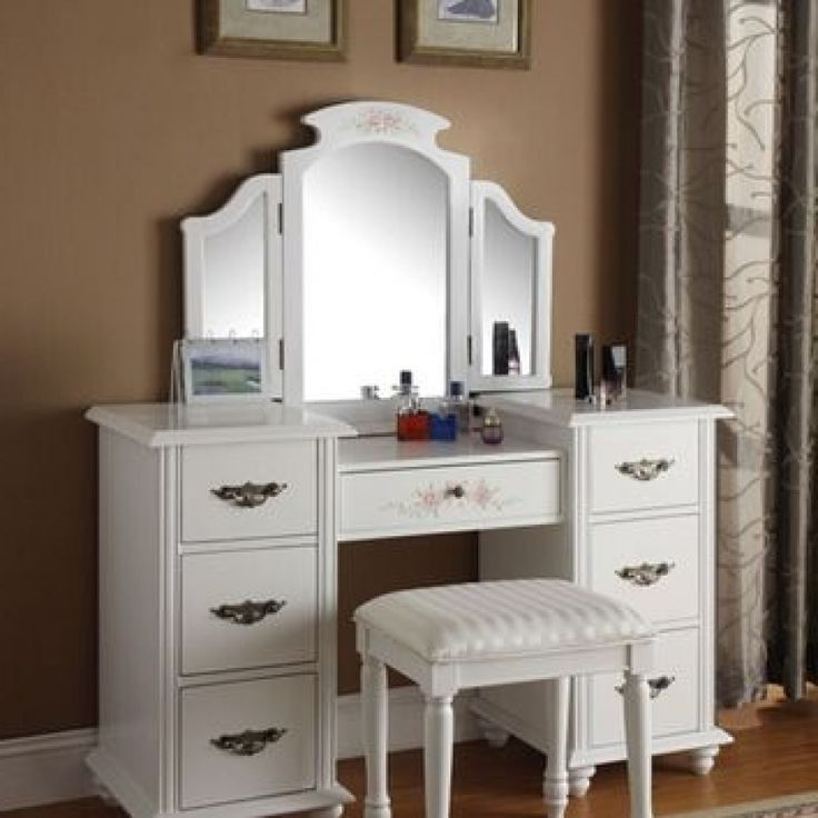 Dressing Table Walmart Every Woman Needs A Place To Treat Herself Dressing Every Needs White Bedroom Vanity Bedroom Vanity Set Small Bedroom Vanity
