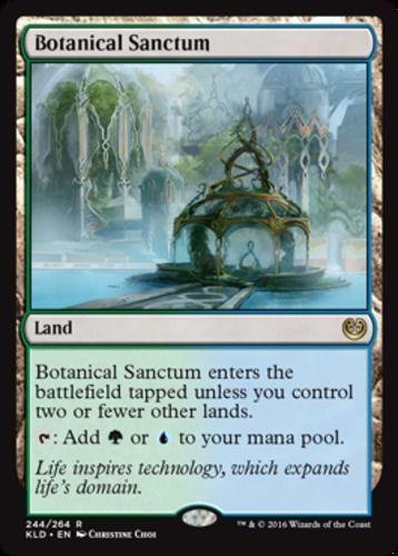 Botanical Sanctum Kaladesh Magic the Gathering card