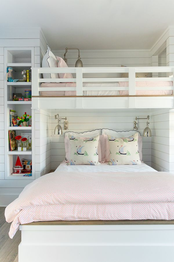 Coastal Living 2015 Showhouse: Bunkrooms Before & After