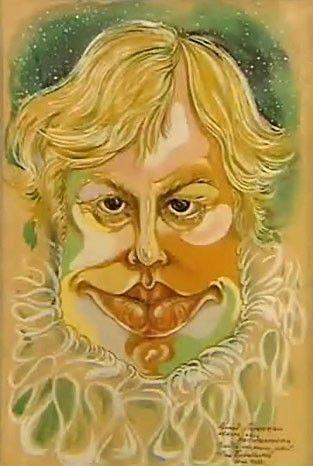 рисунок Богатырёва Автопортрет