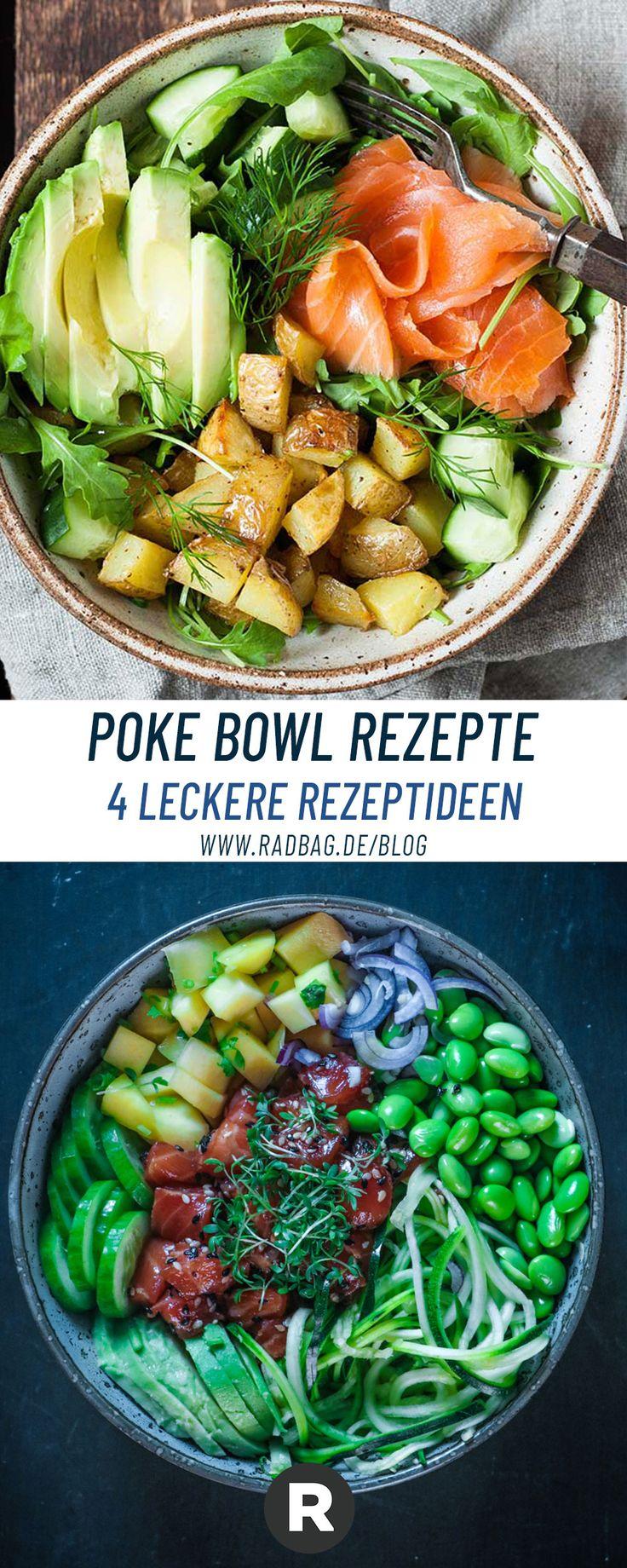 5 Poke Bowl Rezepte – der neue Foodtrend aus Hawaii