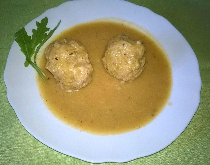 Mydło i powidło.: Pulpeciki gotowane z sosem warzywnym