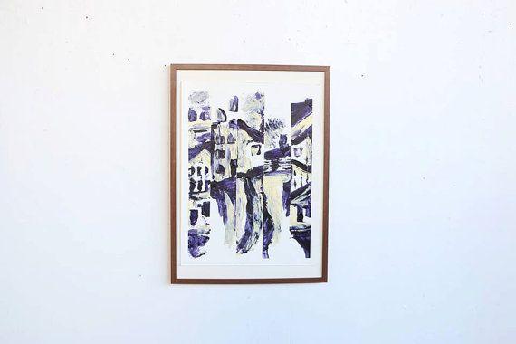Acrylique Artwork 5 par PlantsAndColors sur Etsy