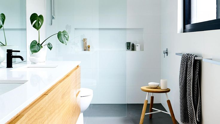 Modern bathrooms. Photography by Derek Swalwell. Styling by Heather Nette King.