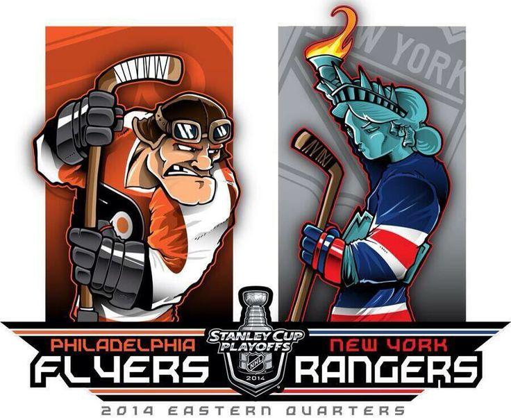 NHL Playoff 2014 Flyers vs. Rangers